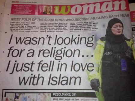 I just fell in love with Islam...